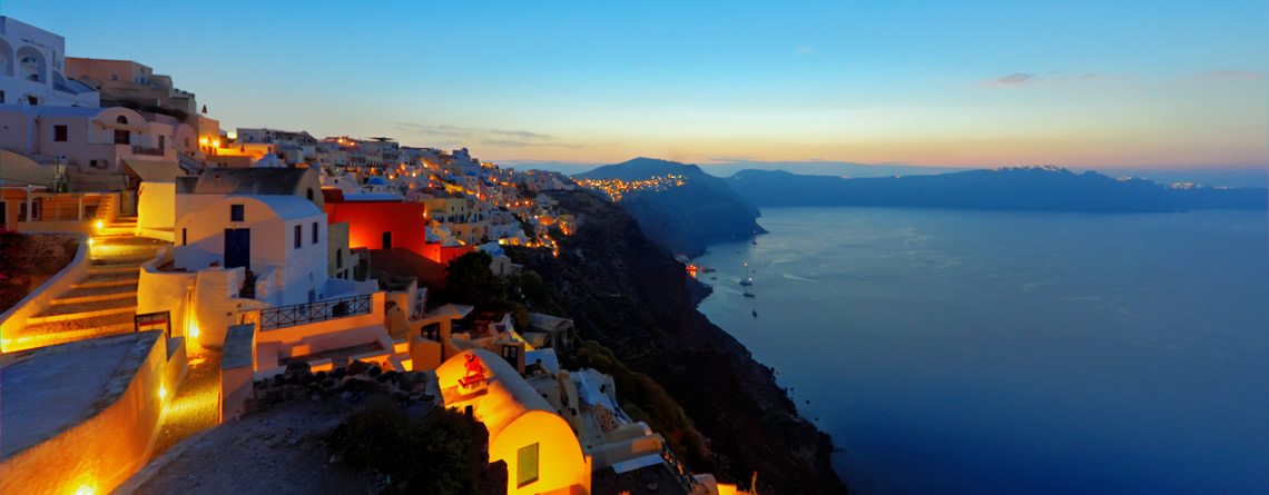 Brief Info about Santorini