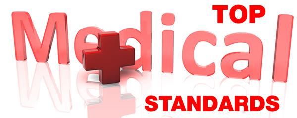 top medical standards
