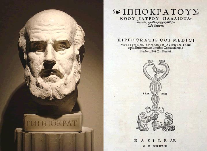 Hippocratus father of western medicine